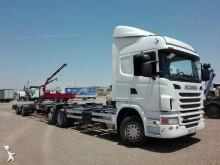 camión remolque portacontenedores Scania