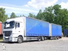 camion remorque Mercedes Actros 2544 *Pritsche/Plane*115cubic*