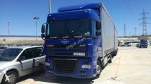 camión remolque lona corredera (tautliner) sistema de lona corrediza DAF