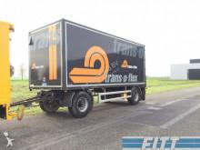 ciężarówka z przyczepą furgon nc