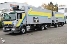 ciężarówka z przyczepą chłodnia z regulowaną temperaturą Mercedes