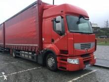 ciężarówka z przyczepą Plandeka plandeka suwana używana