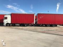 ciężarówka z przyczepą Plandeka plandeka suwana DAF