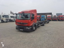 ciężarówka z przyczepą do transportu kontenerów Renault