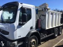ciężarówka z przyczepą wywrotka budowlana Renault