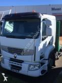 ciężarówka z przyczepą do transportu sprzętów ciężkich Renault