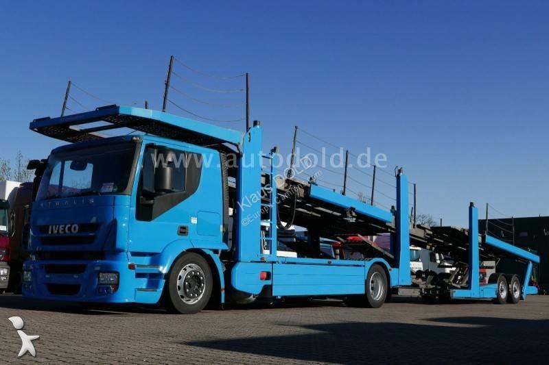 Ciężarówka z przyczepą Iveco