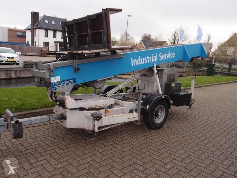 Vedere le foto Autotreno Bocker Arriva HD 34 / 1-8 LH ladderlift verhuislift pannenlift