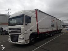 vrachtwagen met aanhanger DAF XF105 460