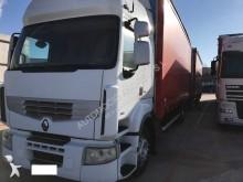 camion cu remorca cu prelata si obloane Renault