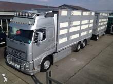 автопоезд скотовоз Volvo