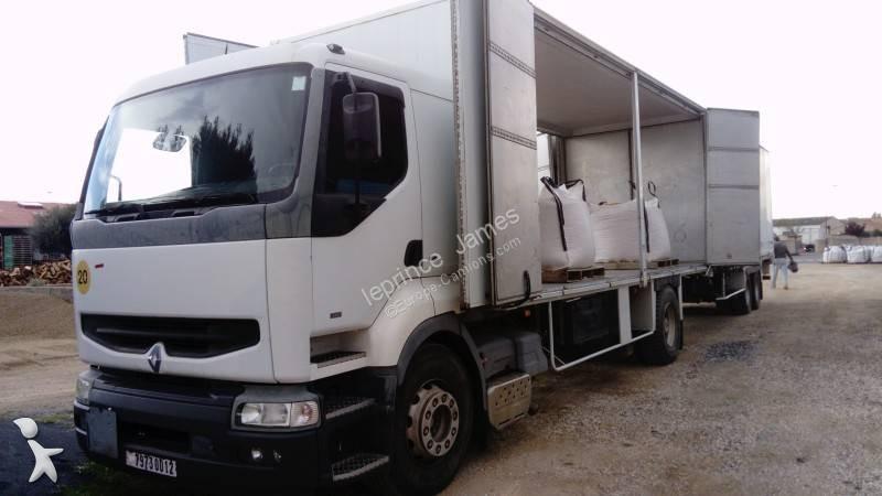 Camion remorque Renault