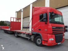 camião reboque estrado / caixa aberta DAF