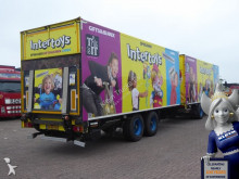 camião reboque furgão usado