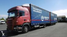 camion cu remorca obloane laterale suple culisante (plsc) Scania