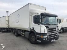 ciężarówka z przyczepą furgon Scania