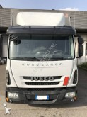 tweedehands vrachtwagen met aanhanger aanhanger met zeilwanden platte bak met zeilwanden