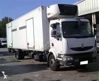 Renault refrigerated trailer truck