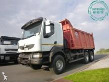ciężarówka z przyczepą wywrotka Renault
