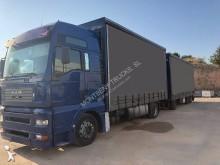 Camión remolque lona corredera (tautliner) sistema de lona corrediza MAN TGA 18.