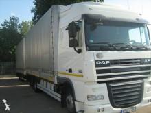 ciężarówka z przyczepą Plandeka burtoplandeka DAF