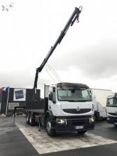camion cu remorca platformă Renault