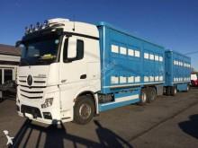 Mercedes Lastzug Viehtransporter