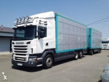 Scania Lastzug Viehtransporter