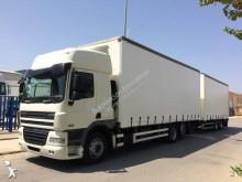 Camión remolque lona corredera (tautliner) DAF CF85 460