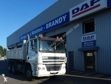DAF two-way side tipper trailer truck