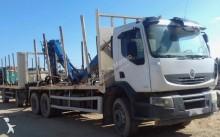 Camión remolque maderero Renault Premium 320