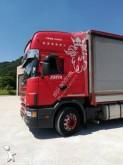 ciężarówka z przyczepą Plandeka plandeka suwana Scania