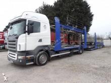 Scania car carrier trailer truck