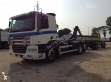 DAF hook lift trailer truck