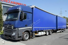 Mercedes tarp trailer truck