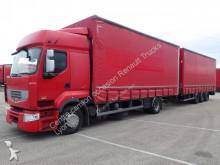 ciężarówka z przyczepą firanka Renault