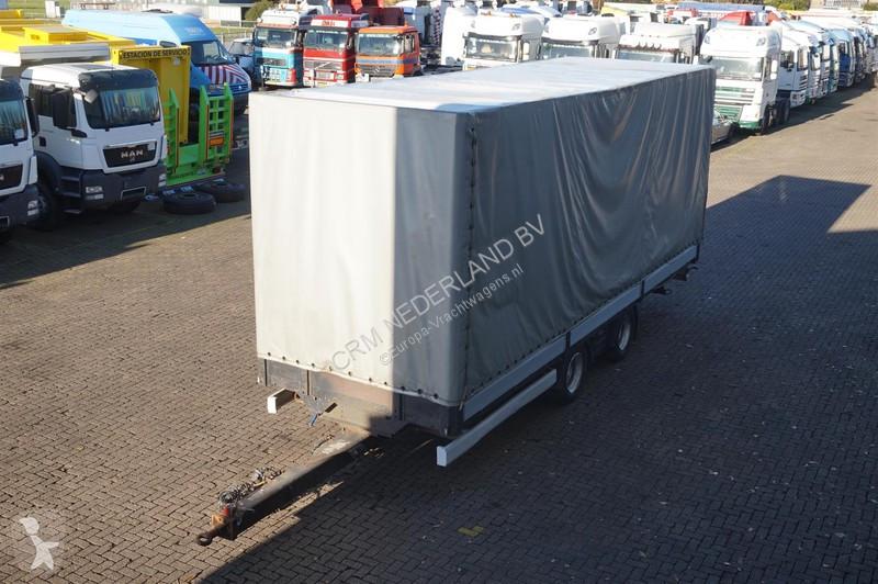 Camion remorque nc Wipcar 2-assig met alu borden