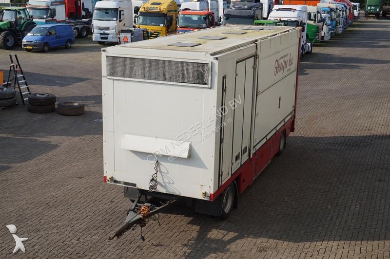Camion remorque nc Gesloten aanhangwagen 2 assig/eigen motor