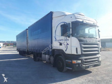 Scania standard box trailer truck