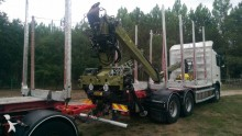 used timber trailer truck