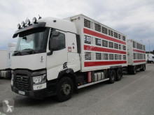 Renault cattle trailer truck