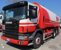 camião reboque cisterna hidraucarburo Scania