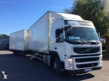 Volvo plywood box trailer truck