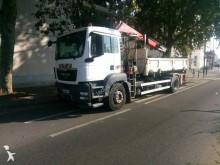 ciężarówka z przyczepą wywrotka trójstronny wyładunek MAN