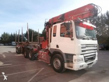 DAF timber trailer truck
