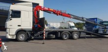DAF heavy equipment transport trailer truck