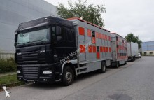 camión remolque para ganado bovino DAF
