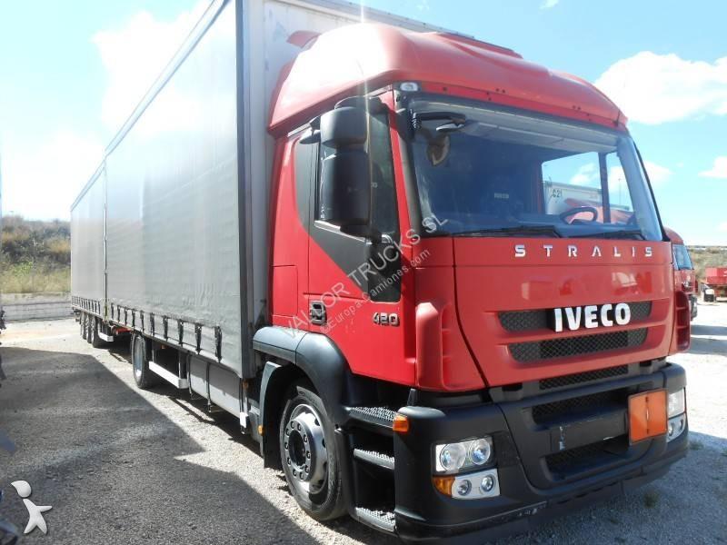 Camión remolque Iveco