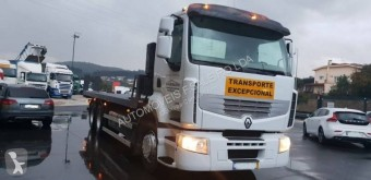 Renault heavy equipment transport trailer truck