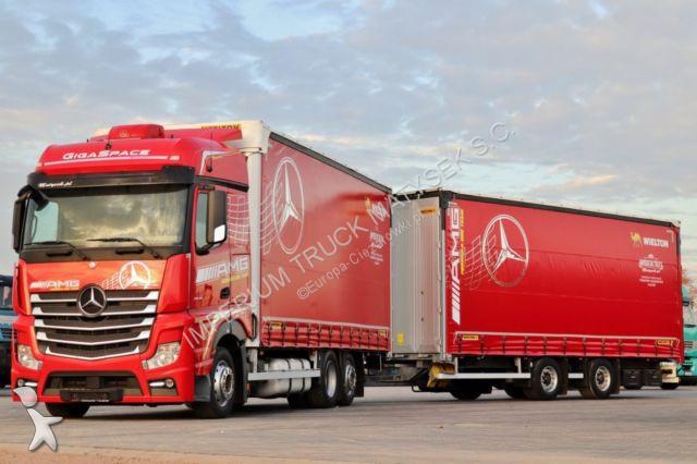 Mercedes ACTROS 2545 / JUMBO 120 M3 / VEHICULAR/ EURO 6 / trailer truck